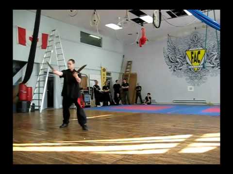 Wing Chun Knife form
