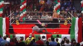 Dolph Ziggler destroys Alberto Del Rio's Fiesta - Full Segment (SmackDown 06/28/2013)