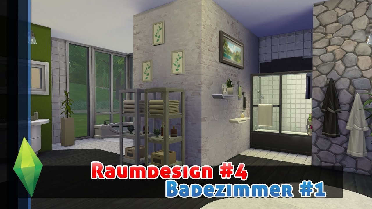 Plitsch, Platsch und Quietscheente! - Die Sims 4 Raumdesign ...