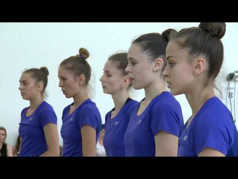 Художественная гимнастика. Групповые упражнения. Открытая тренировка сборной Украины 16/07/2016