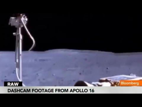 Moon Landing Footage From Apollo 11 Dashcam