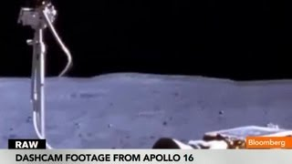 Moon Landing Footage From Apollo 11 Dashcam
