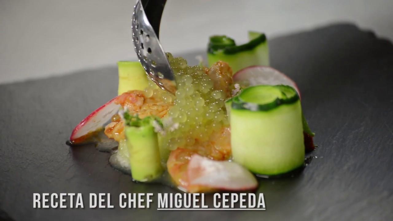 Esferificacion Cocina Molecular Aguachile Chef Miguel Cepeda Mcs