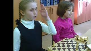 Урок шахмат, 2 класс