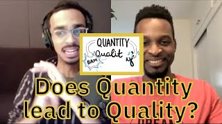 QUANTITY LEADS TO QUALITY | JOHN HENRY