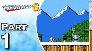 Mega Man 6 - Gameplay - Walkthrough - Let's Play - Part 1