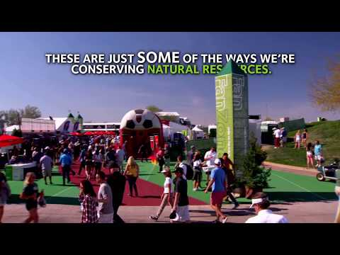 Managing Natural Resources at the Waste Management Phoenix Open