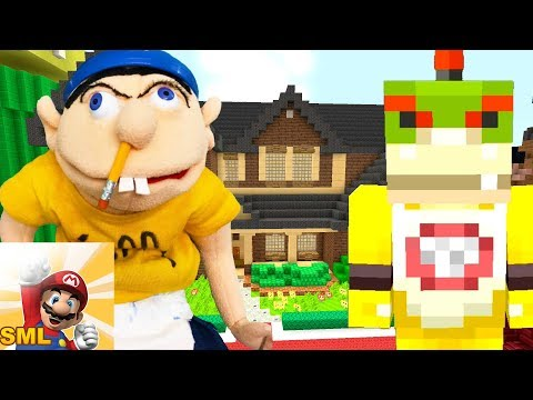 Minecraft | Nintendo Fun House | Bowser Jr Visits The SML HOUSE! [428]