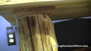 Log Coffee Table From The Cedar Lake Collection