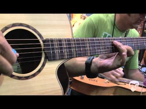 Summer NAMM '11 - Cole Clark Guitars Brent Mason & Randy Kohrs Performance Pt. 1