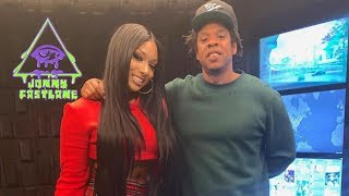 Megan Thee Stallion Joins Roc Nation Kurupt Hospitalized Diddy Co-signs Rapsody Cardi B BE ...