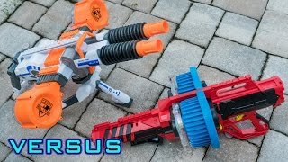 [VS] Nerf Rhino-Fire vs. BoomCo Colossal Blitz | Which is Better?!
