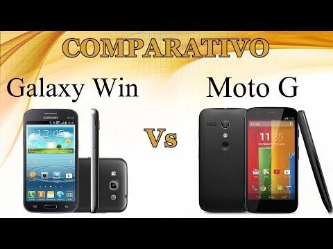 Comparativo: Galaxy Win vs Moto G ( Celular10 )