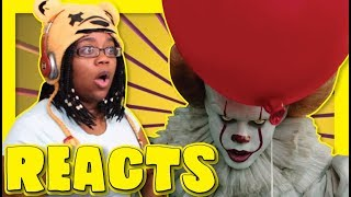 REACTING TO IT TRAILER BUT IT'S THE CAT IN THE HAT