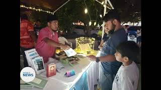 Ahmadi Muslims in the Marshall Islands hold Book Stall
