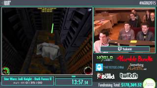 Awesome Games Done Quick 2015 - Part 30 - Star Wars: Jedi Knight - Dark Forces II by ysalamiri
