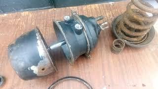 расторможение энергоаккумулятора руками  тип 24/24  243519200-01