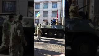 Ветераны Афганистана прошли колонной по Одессе
