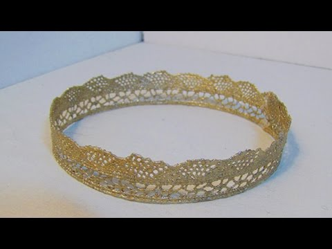 How To Make A Beautiful Lace Crown - DIY Style Tutorial - Guidecentral