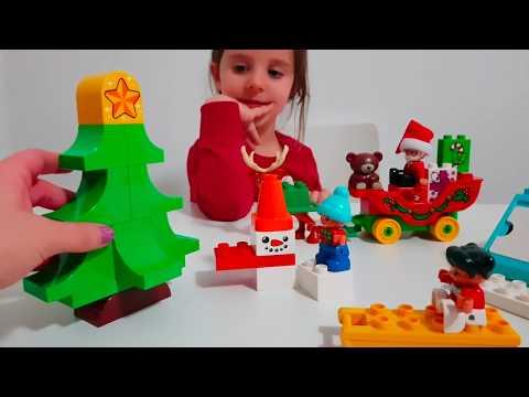 Pupazzi di Neve e Villaggio di Natale Lego Duplo!