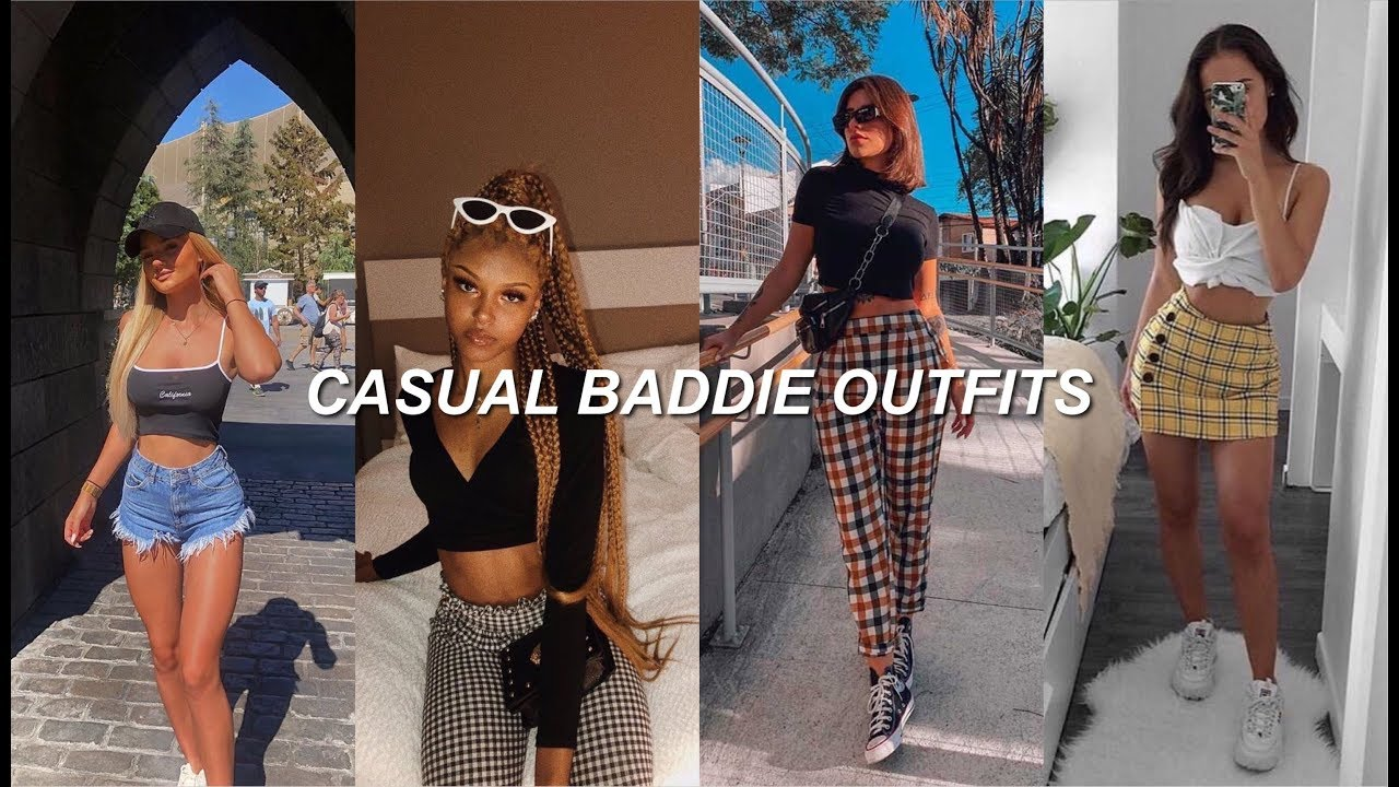casual baddie outfits ✨