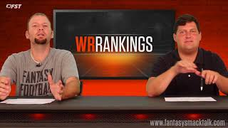 2018 Fantasy Football Week 1 Positional Rankings