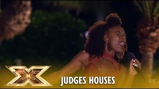 Shan: Incredible Singer Sings An Original IN FRONT OF 50 Music LEGENDS! | The X Factor UK 2018