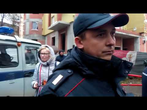 Штаб Навального в Перми заблокировала полиция (09.10.17)