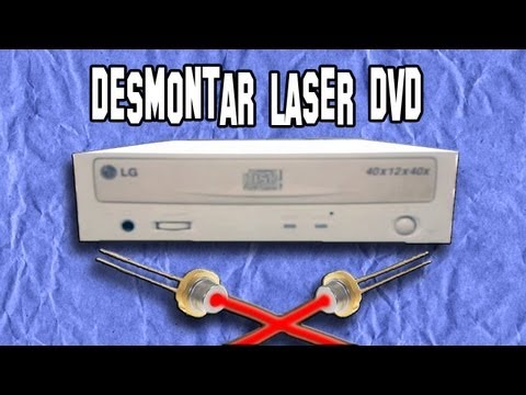 Dismantling a Laser Diode as a DVD player