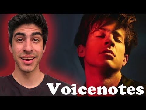 Voicenotes (ALBUM) - Charlie Puth [REACTION]