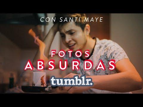 CREANDO FOTOS TUMBLR ABSURDAS CON SANTI MAYE // JUAN DIEGO JOHNS // CHALLENGE