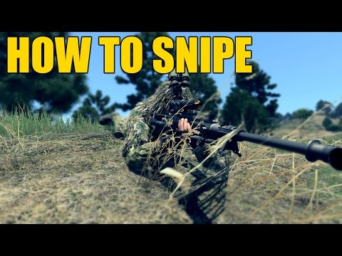 [ARMA 3 Tutorial] How To Snipe (Tips and Tricks)