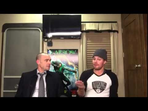 Part 1  Stephen Amell  Q&A with Paul Blackthorne