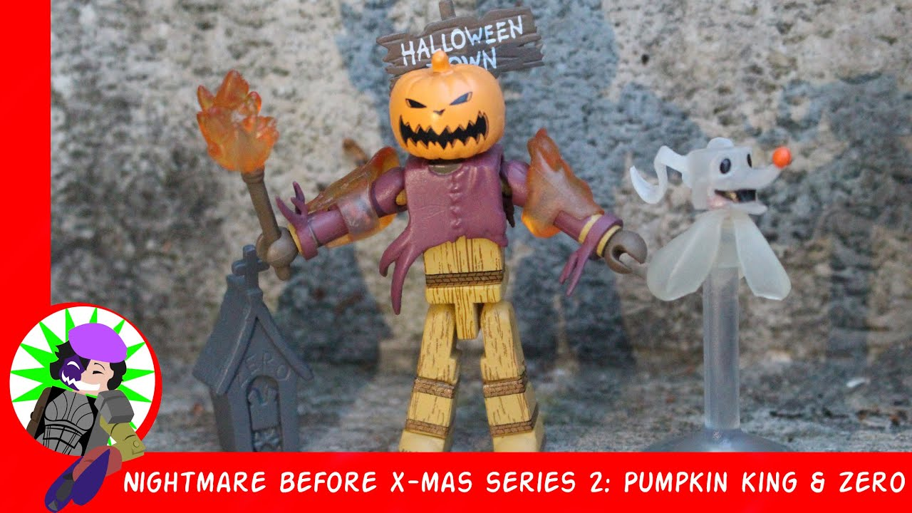 Minimates Pumpkin King The Nightmare Before Christmas Wave 2 série 2015