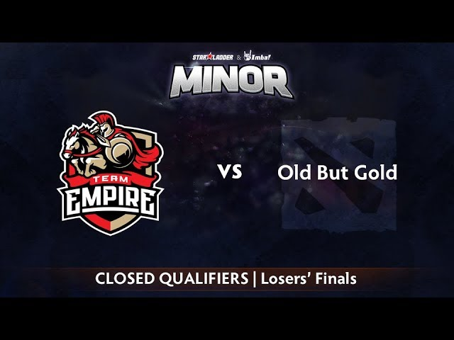 Empire vs Old But Gold Game 2 - StarLadder ImbaTV CIS Qualifier: Losers' Finals
