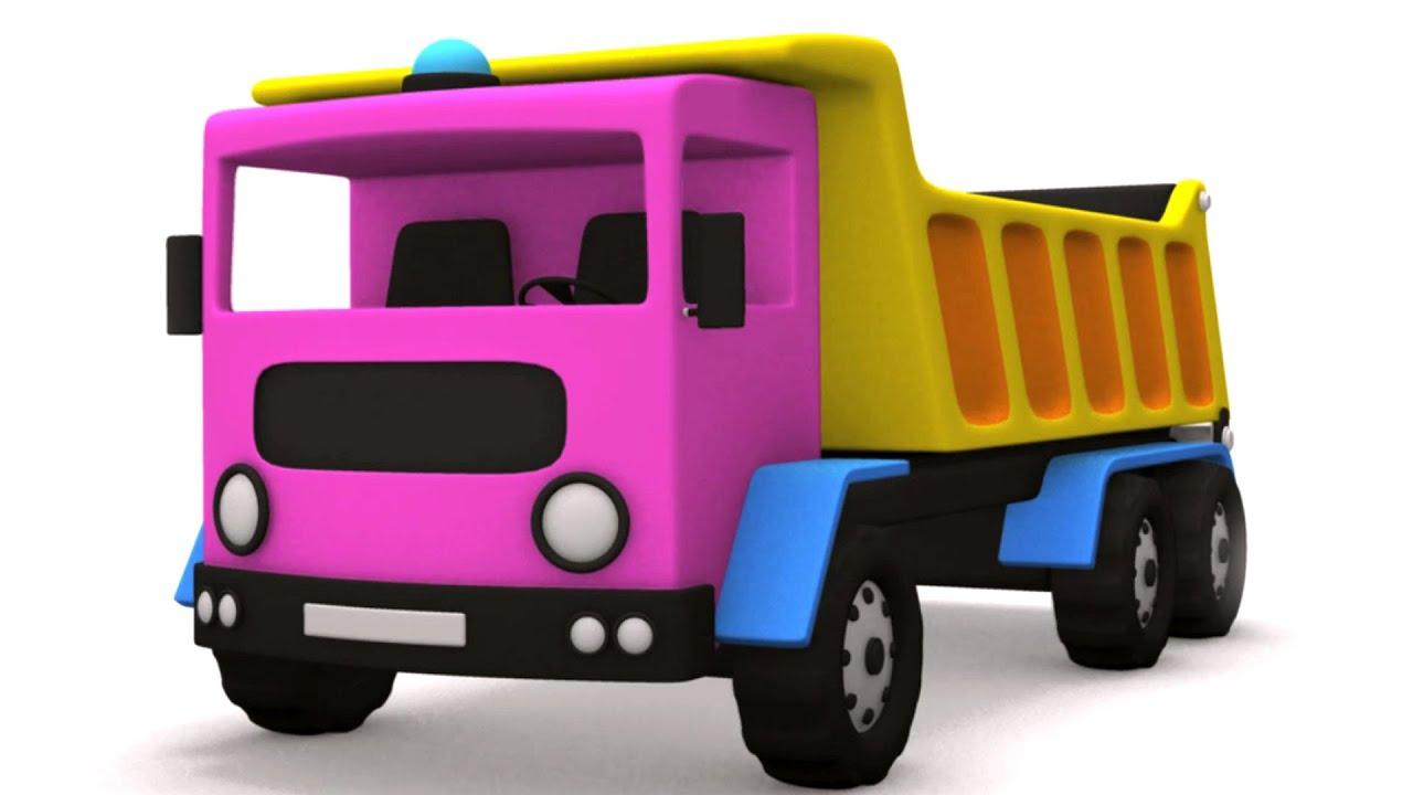 mainan unboxing  dumper lori  kompilasi kenderaan anak