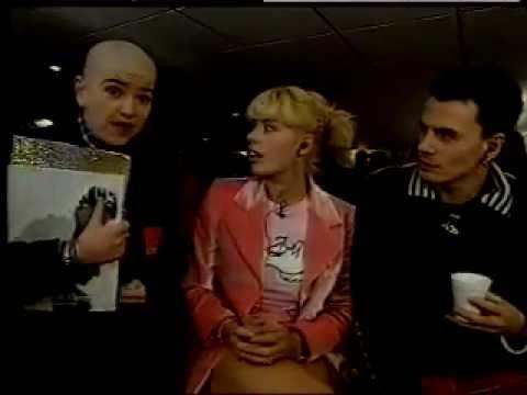 Amanda de Cadenet and John Taylor of Duran Duran