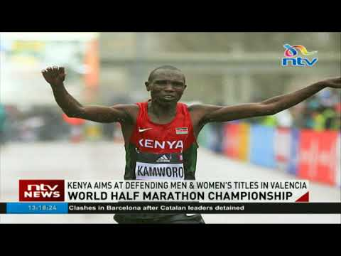 World half Marathon championship: Kenya aims at defending men and women's titles in Valencia