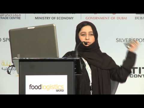Asya Abdulwahab (Head of Studies and Food Planning Sector, Dubai Municipality)