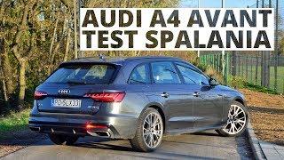 Audi A4 Avant 2.0 45 TFSI 245 KM (AT) - pomiar zużycia paliwa
