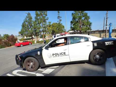 University Police  (SILENT TREATMENT) w/Ms. FOXY,   Cal State Fullerton, 1st Amend Audit