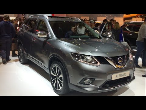 nissan x trail 2016 in detail review walkaround interior. Black Bedroom Furniture Sets. Home Design Ideas