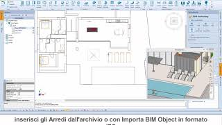 Blumatica BIM ArchIT & Unreal Scene