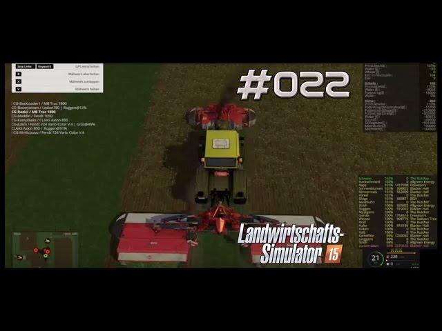 Let's Play Landwirtschafts Simulator 2015 | Klee Ernte auf Green River | Folge #022