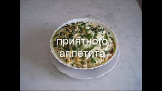 Салат со свежей капустой, яйцом и кукурузой. Легкий салат с капустой.
