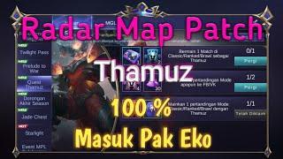 Radar Map Hack Patch Thamuz Mobile Legends