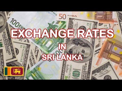 Exchange Rates In Sri Lanka 1960-2019