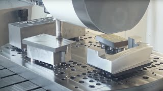 Viele Bauteile - eine Aufspannung: mit wenig Werkzeugwechseln länger mannlos fertigen