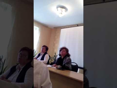 Встреча жителей Суворова с замминистром здравоохранения Тульской области