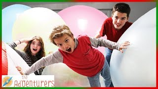 We Filled Jordan's Room With Wubble Bubble Balls! I That YouTub3 Family The Adventurers
